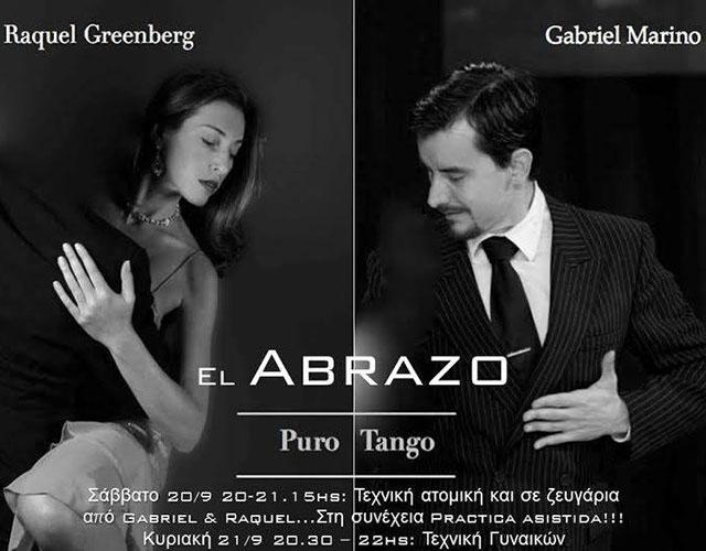 Raquel Greenberg & Gabriel Marino – El Abrazo – Puro Tango