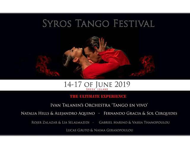 Syros Tango Festival - 5th Edition (14-17/06/2019)